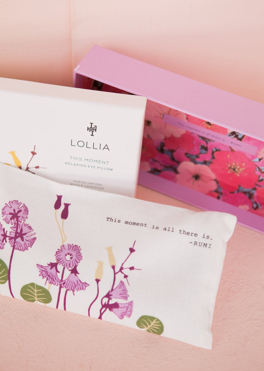 Lollia This Moment Eye Pillow Lavender & Peppermint
