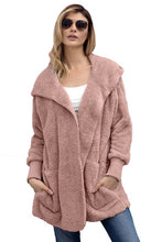 Load image into Gallery viewer, Soft Fleece Hooded Cardigan-Plus