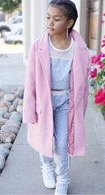 Load image into Gallery viewer, Girl's Pink Coat