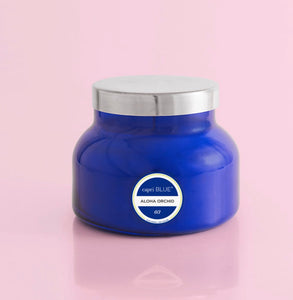 Capri Blue Aloha Orchid Blue Signature Jar 19 oz.