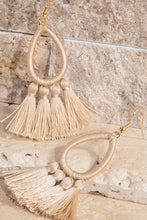 Load image into Gallery viewer, Tassel Teardrop Earrings