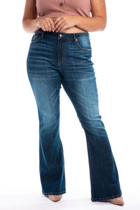 Super High Rise Flare Jean-Plus