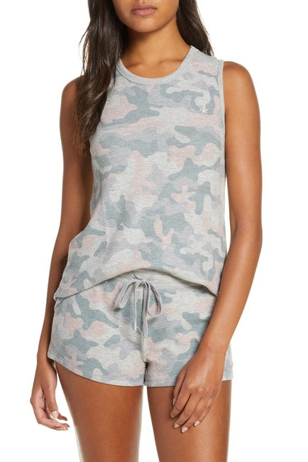 Weekend Love Camo Tank