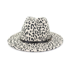 Load image into Gallery viewer, Leopard Panama Hat