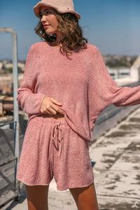 Terry Cloth Loungewear Set