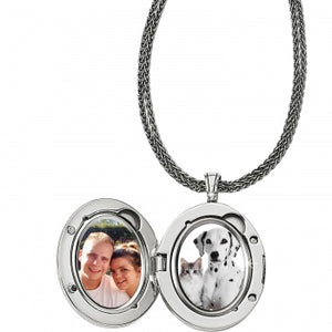 Precious Momento Rose Quartz Locket