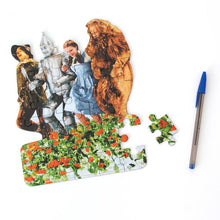 Load image into Gallery viewer, Wizard of Oz Poppy Field Mini Puzzle