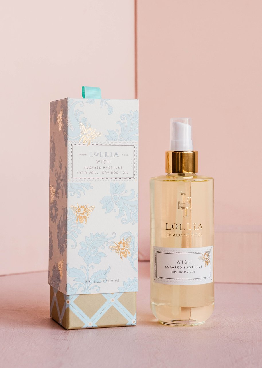 Lollia Wish Dry Body Oil Sugared Pastille
