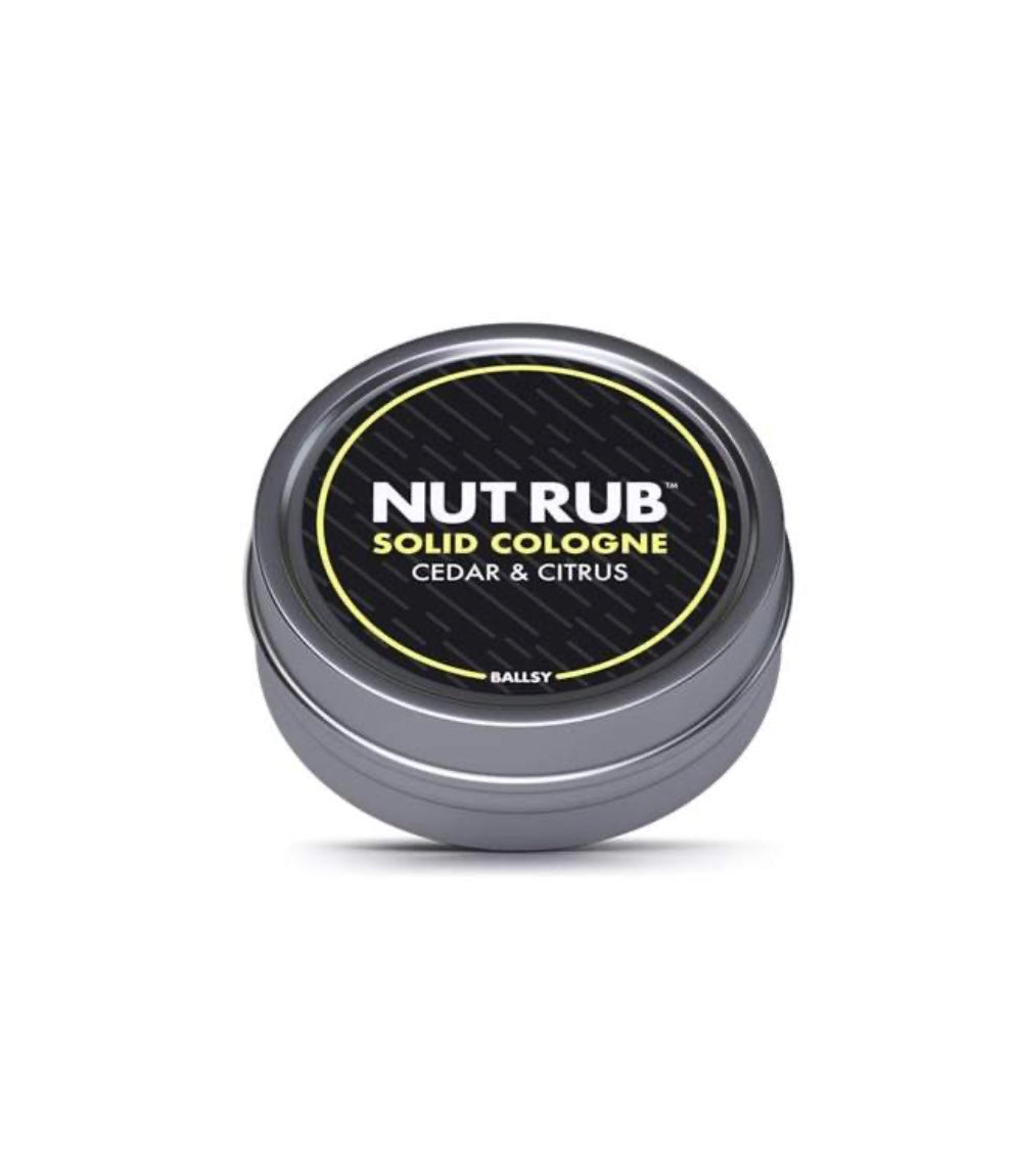 Nut Rub- Cedar & Citrus