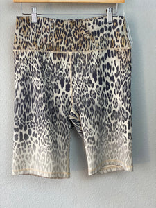 Leopard Biking Shorts
