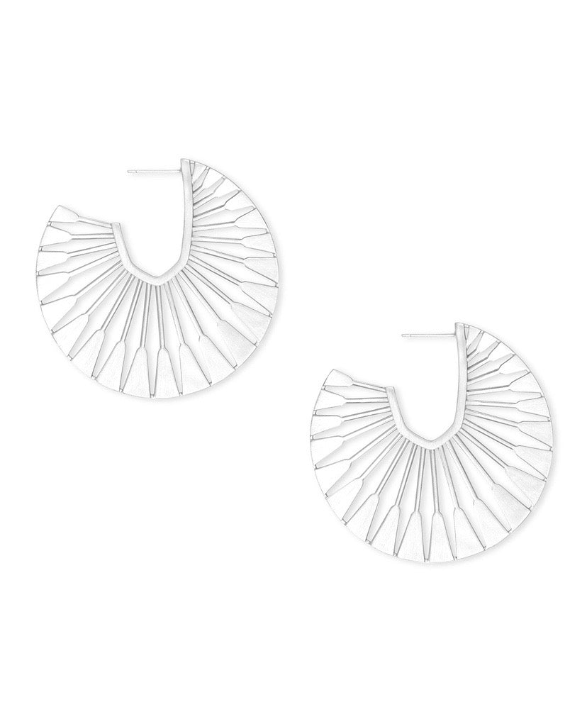 Deanne Bright Silver Hoops