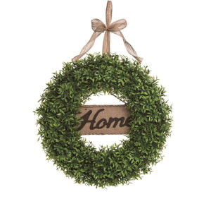 Greenery Home Wreath