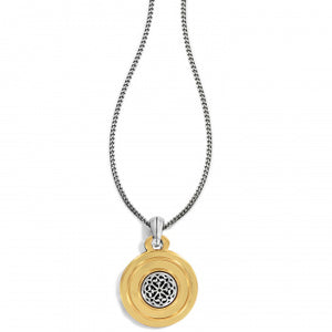 Ferrara 2 Tone Long Reversible Necklace