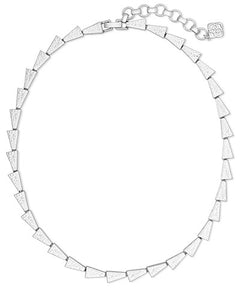 Leon Bright Silver Collar Necklace