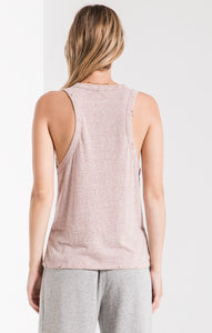 Triblend Racer Distressed Tank
