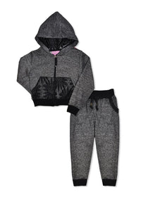 Girl's Hoodie Jogger Active Set