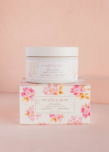 Lollia Breathe Body Butter Peony & White Lily