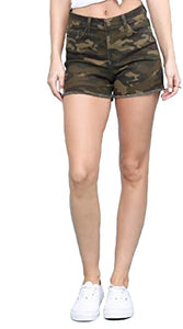 Army Of One Camo Short Judy Blue Short