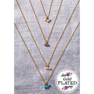 Turquoise 'Friend' Dainty Necklace