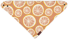 Load image into Gallery viewer, Milkbarn Kerchief Bib Grapefruit