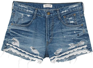 Couleur Brut Denim Shorts