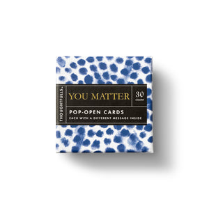 Thoughtfuls Pop Up Card-You Matter