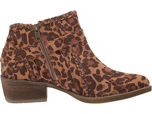 Percy Leopard Booties