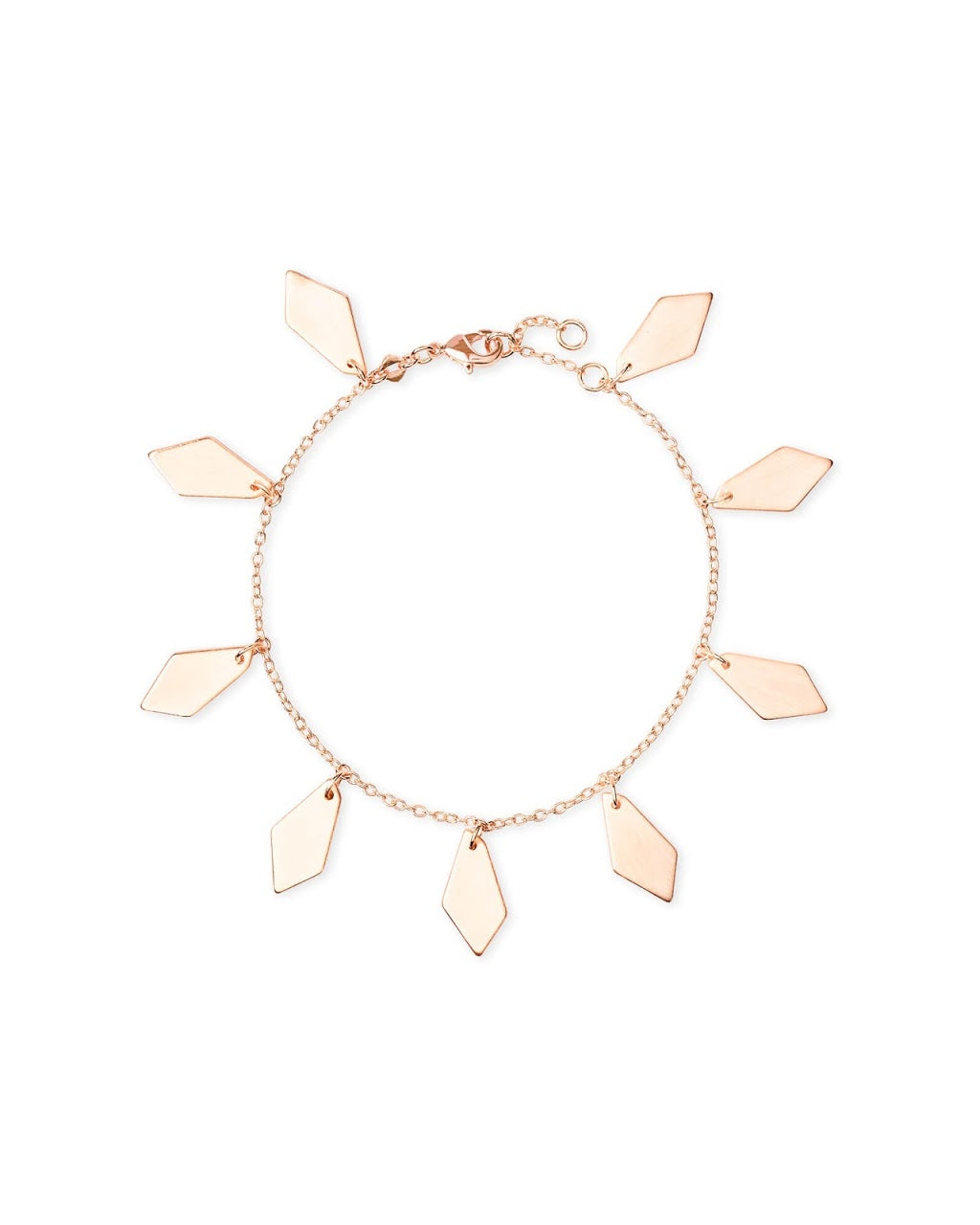 Pike Rose Gold Chain Bracelet