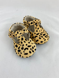Baby Shoes - Leopard Moccs