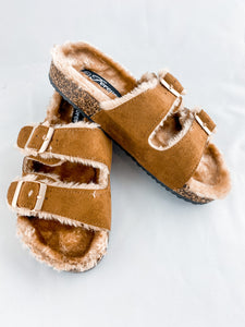 Fur Sandal - Adult