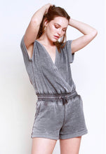 Load image into Gallery viewer, Liv Wrapped Vintage Romper