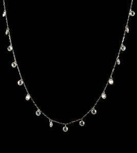 Dangling Crystal Necklace