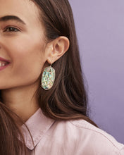 Load image into Gallery viewer, Faceted Gold Danielle Earrings-Abalone