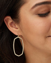 Load image into Gallery viewer, Danielle Gold Open Frame Earrings
