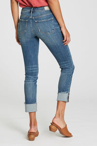 Blaire Cuffed Slim Straight Jean