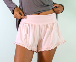 Faceplant Dreams Bamboo Ruffle Short