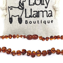 Load image into Gallery viewer, Baltic Amber Teething Necklace