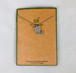 CAI Dainty Charm Necklace