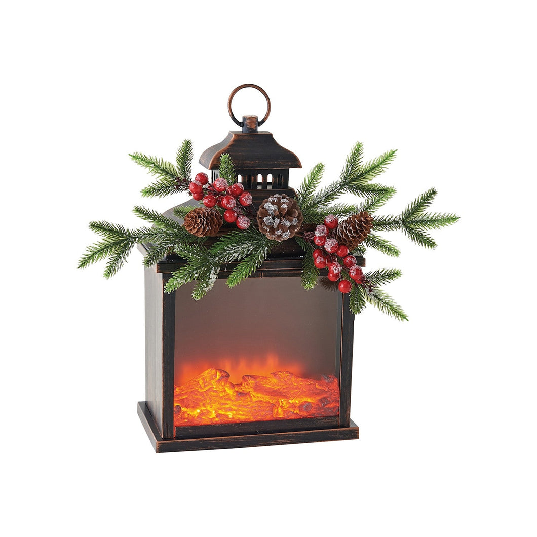 Fire Light Christmas Decor