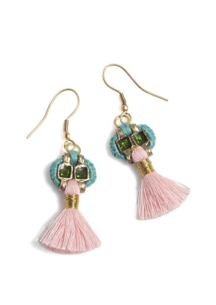 Shiraleah Paz Boho Tassel Earrings