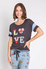 Load image into Gallery viewer, Peace And Love Short Sleeve Tee