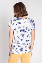 Load image into Gallery viewer, Navy Vintage Feel Short Sleeve Tee