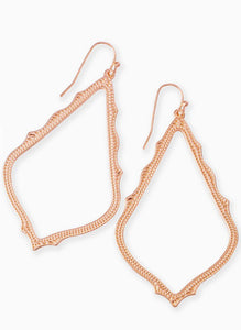 Sophee Rose Gold Earrings
