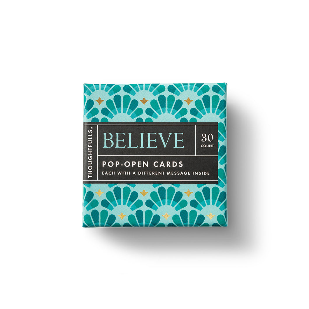 Thoughtfuls Pop Up Card-Believe