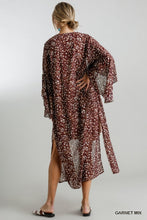 Load image into Gallery viewer, Garnet Mix Kimono