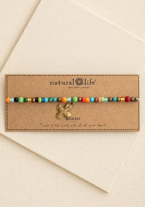 Beaded Charm Anklet