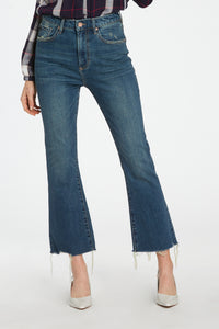 Veronica Wide Leg Cropped Jean