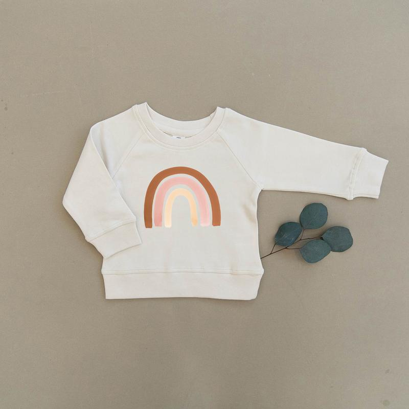 Organic Baby & Toddler Natural Pullover
