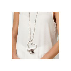 Silver Love At First Sight Necklace