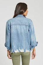 Load image into Gallery viewer, Elise Denim Jacket Gale